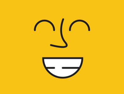 Happy Face adobe illustrator illustration design icon emoticon minimalism minimalist minimal emotions emoji face happy