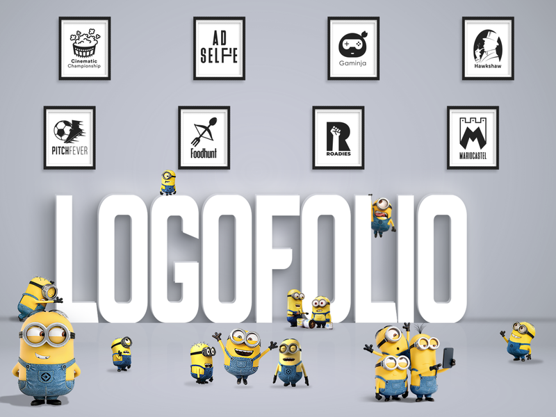LogoFolio Poster Design inspiration design inspiration realistic adobe illustrator product design cartoon animated character graphicdesign art graphic photo manipulation design mockups mock-up logo design logo illustration adobe photoshop minions minion