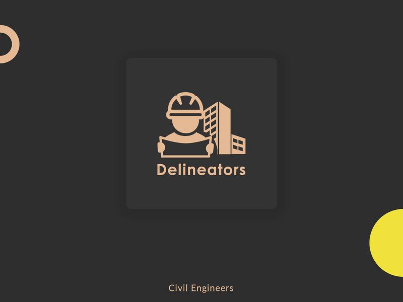 Civil Engineers Logo Design symbol icon mark icon infrastructure construction engineer logo inspirations flatdesign inspiration design inspiration logo inspiration typography vector minimal design adobe illustrator branding logo design logo