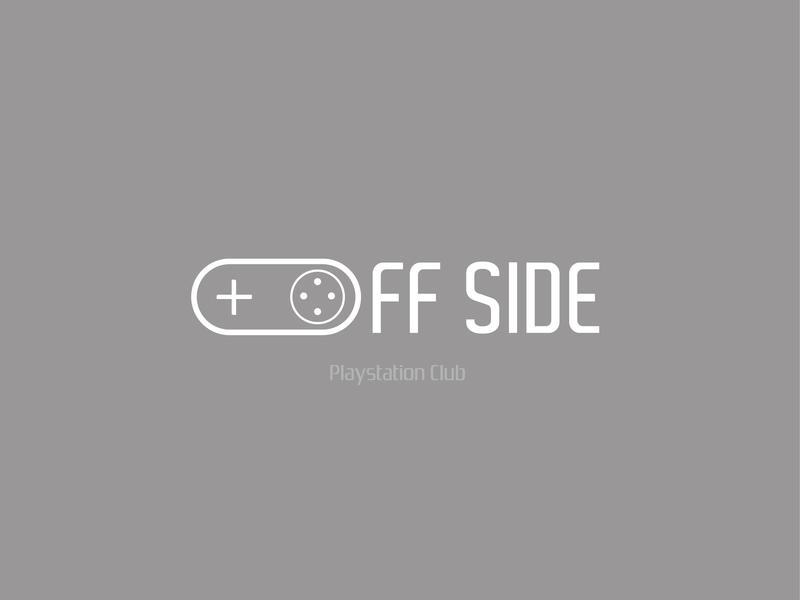 Offside playstationclub club playstation4 ps offside logo dribbble baku azerbaijan 2019 design illustrator