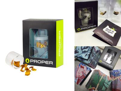 Proper Oil Packaging bho cannabis marijuana mmj packaging die line