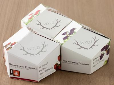Wyld marijuana packaging cannabis packaging packaging gummy marijuana cannabis oil co2