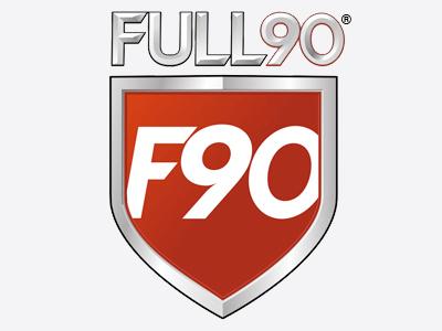Full90 logo design