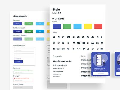 Style Guide - Minimalism Design ui  ux ui design design style guide styleguide website design web design web webdesign website flatdesign ui adobe xd minimalist