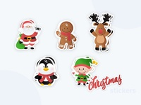 Christmas Stickers🎅
