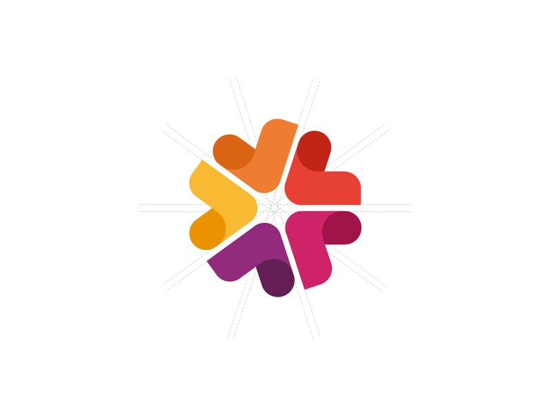 Torqx Capital Partners - Logo Mark icon colors five capital branding logo
