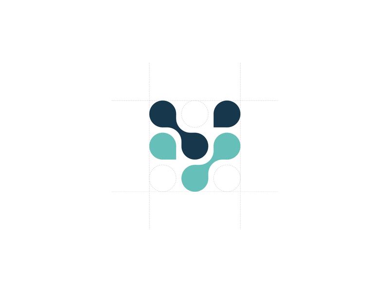 Voogd & Voogd - Logo mark insurance vv logomark logo design branding
