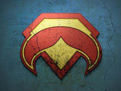 SuperStache logos mustache graphic