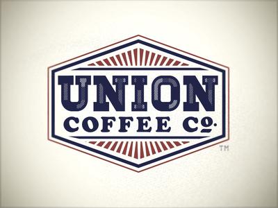 Union Coffee Logo coffee logo americana typography