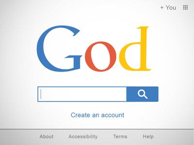 Godgle logo typography non-profit christian