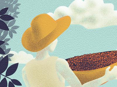 Flight Coffee Co Illustration - Detail packaging print coffee illustration