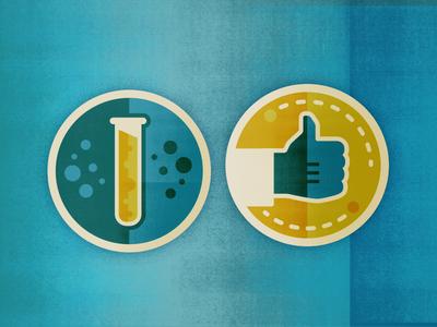 Chemistry Badges