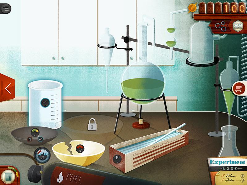 Chemistry App science game