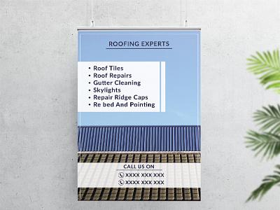 Roofing Experts  | Flyer Design | Graphic Design artwork adobe designinspiration flyer creativedesign designer portfolio illustration creative design creative marketing artist flyerdesigner