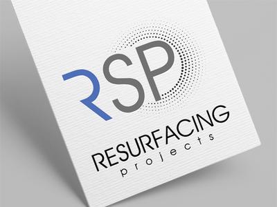 RSP | Logo Design | Graphic Design artist logo illustration