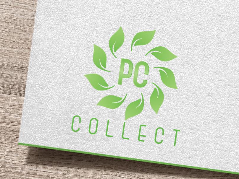 Pc Collect | Logo Design | Graphic Design illustration design branding logo design graphics grahic design brand and identity logo