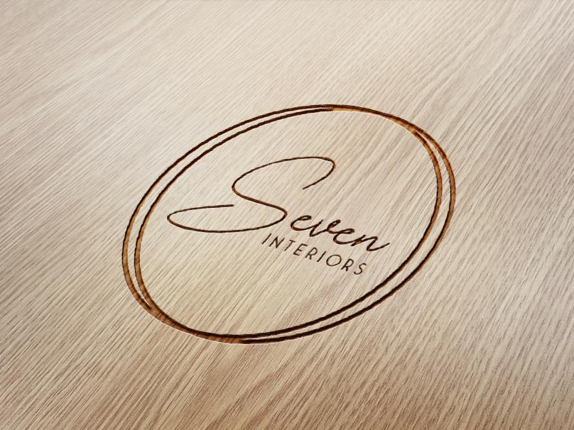 Seven Interiors | Logo Design | Graphic Design illustration design branding logo design graphics grahic design brand and identity logo