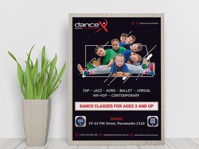 Dancex | Flyer Design | Graphic Design