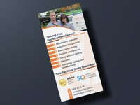 Fully Wired Electrical Service | Flyer Design | Graphic Design