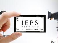 Jeps Weddings | Business Card Design | Graphic Design