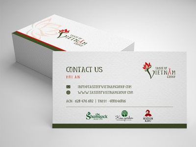 Test Of Vitamin | Business Card Design | Graphic Design