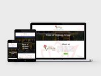 Taste Of Vietnam Group | Web Design | UI Design
