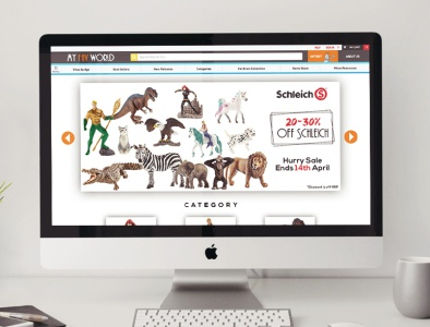 Schleich | Banner Design | Graphic Design