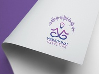 Vibrational Marketing | Logo Design | Graphics