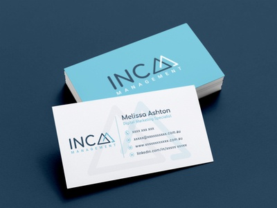 Inca Management | Business Card Design | Graphic Design