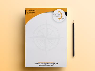 East Coast   Letterhead Design   Graphic Design