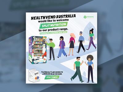 Healthvend Australia | Flyer Design | Graphics
