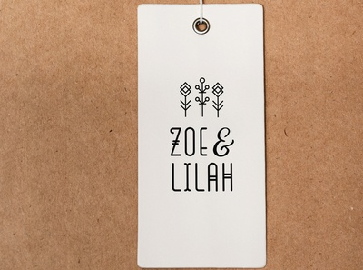 ZOE & LILAH | Logo Design | Graphic Design