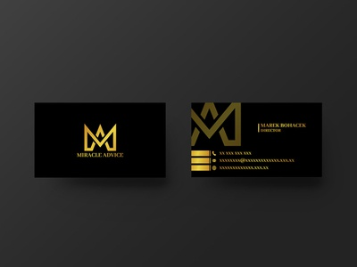 Miracle Advice  | Business Card Design