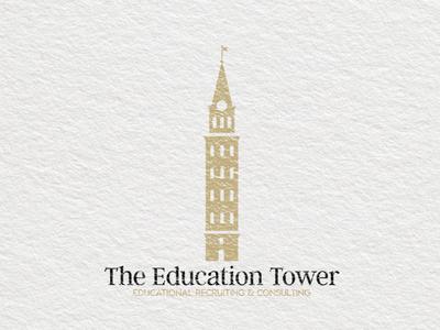 The Education Tower   Logo Design   Graphic Design