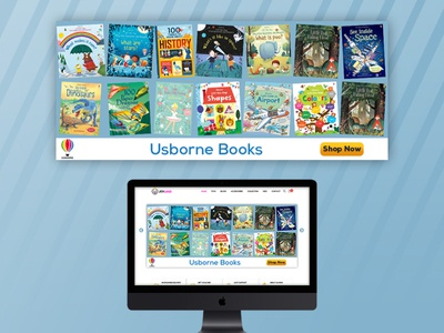 Usborne Banner | Banner Design | Graphic Design