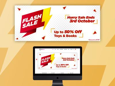 Flash Sale Banner Design bannerdesign designs banner identity logo desginer
