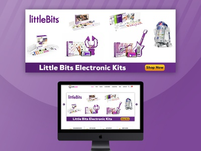 Little Bits | Banner Design | Graphic Design branding designer bannerdesign