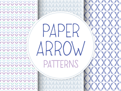 Paper Arrow Patterns paper arrow patterns creative market illustrator vector 3 wallpaper background