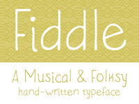 Fiddle Font