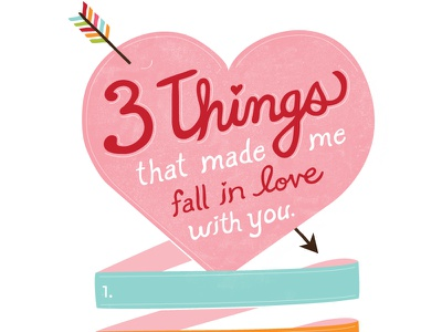 Valentine's Day Card cards lettering valentine