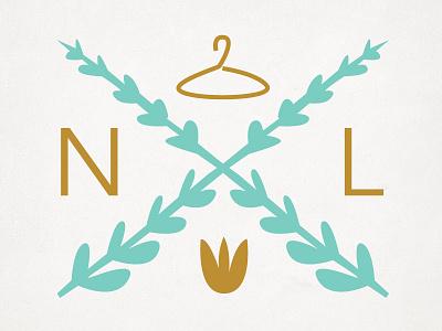Natural Luxe Sub-mark badge logo submark