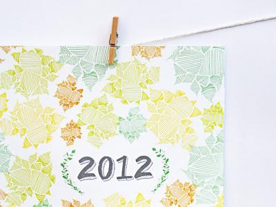 2012-patchwork-calendar wall calendar 2012 patchwork illustrated