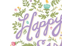 Easter card for American Greetings
