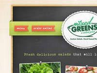 Mixed Greens Website