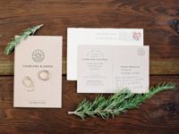 C&D Wedding Invitation