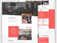 OpenGive Website Design