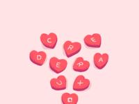 Credera valentinesday whitetxt lightpink