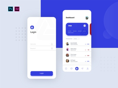 E-Wallet Bank App UI Design