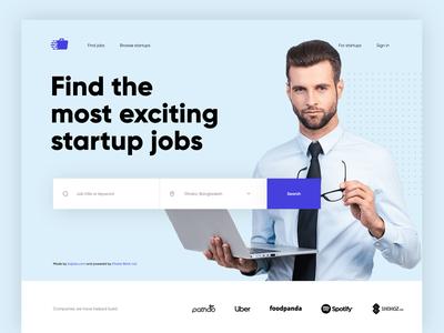 Startup Job Finder Web UI