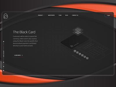 Landing page for a fintech product vector web branding web dev front end design flat ui landing page